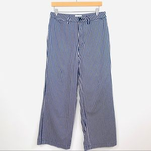 Rollas Wide Leg Jeans Stripe High Waisted Size 29